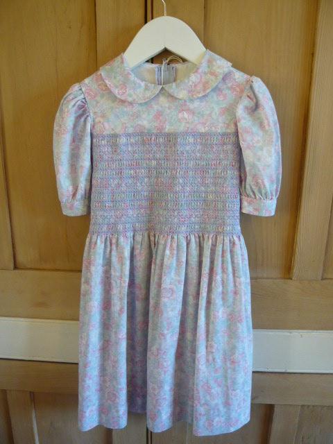 Z/SOLD - A LAURA ASHLEYS VINTAGE GIRLS DRESS