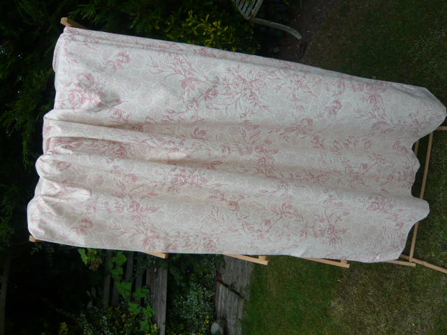PAIR OF VINTAGE SANDERSON CURTAINS two pairs avail