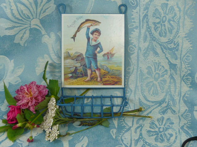 Z/SOLD  VINTAGE SOAP DISH  SAILOR BOY