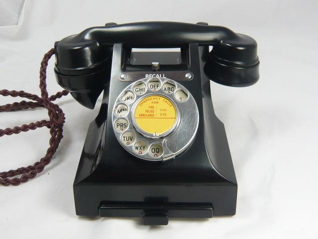 RARE BAKELITE TELEPHONE RECALL