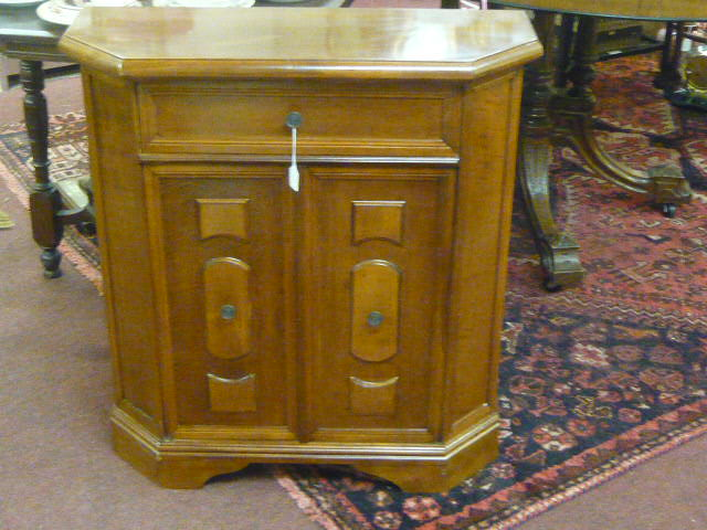 Z/SOLD VINTAGE HALL CUPBOARD