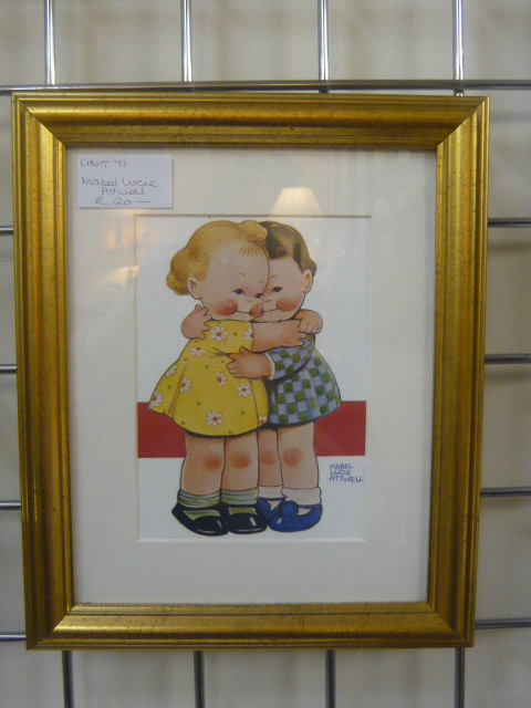 Z/SOLD  MABEL LUCIE ATTWELL PRINT
