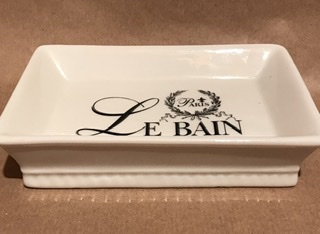 French soap dish LE BAIN PARIS