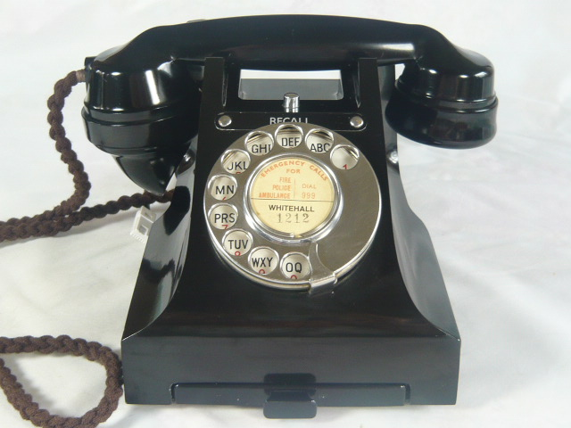 "RARE ""RECALL"" BAKELITE TELEPHONE"
