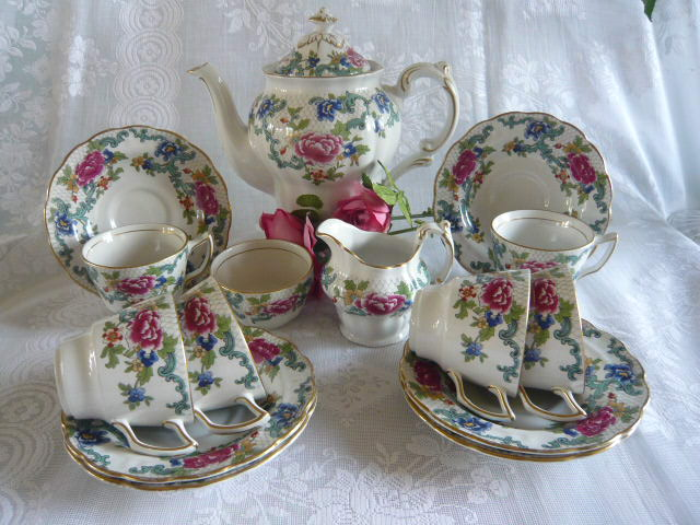 Z/SOLD - BOOTHS  COFFEE SET