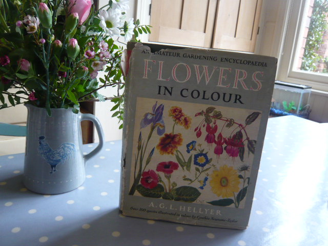 z/sold BEAUTIFUL BOOK OF FLOWERS IN COLOUR