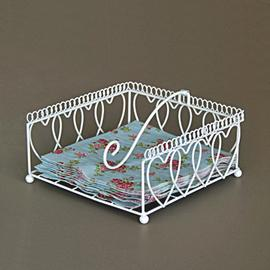 Z/SOLD - A SHABBY CHIC NAPKIN HOLDER