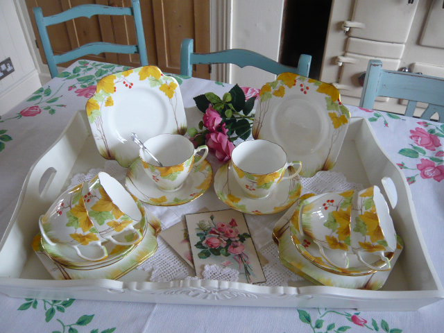 z/sold  ART DECO GRAFTON TEASET